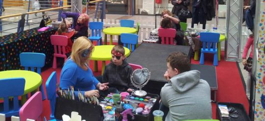 Animation maquillage Enfants Centre Commercial