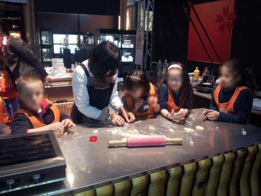 Animation Cuisine Chinoise Centre Commercial