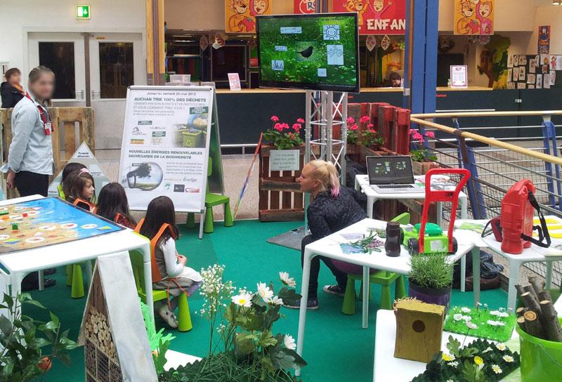 Animation Environnement pour Centre Commercial