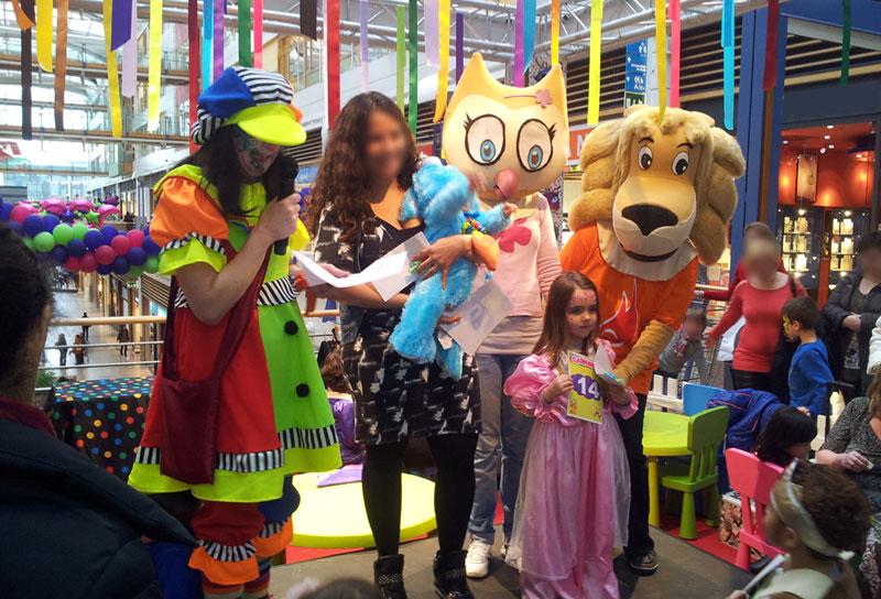 Animation Enfants pour Centre Commercial