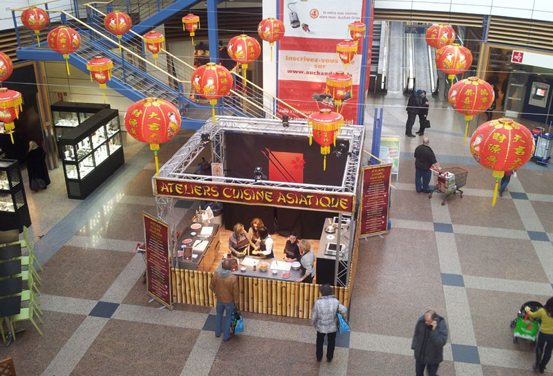 Animation Nouvel-an Chinois pour Centre Commercial