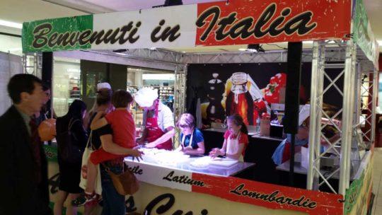 Animation Cuisine italienne Centre Commercial