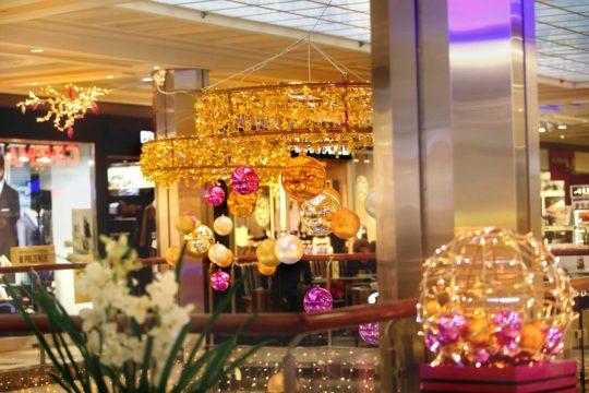 Boule lumineuses de Noël pour Centre Commercial
