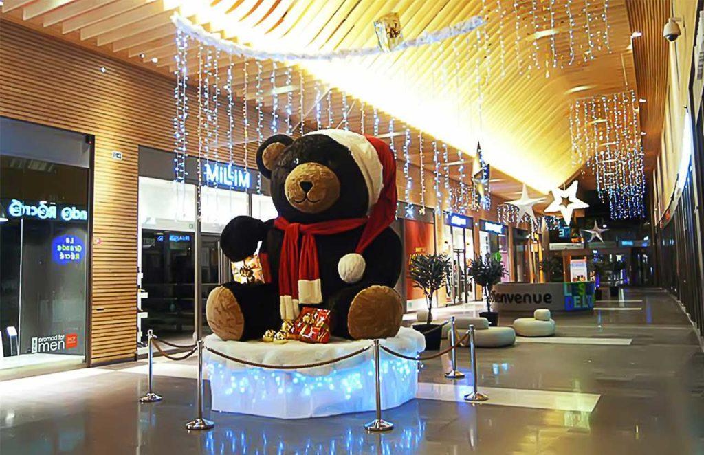 Décoration et Illuminations Centre Commercial