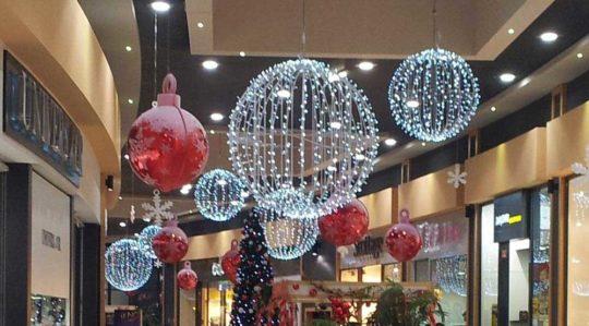 Décoration Noël Centre Commercial Suspension de Noël