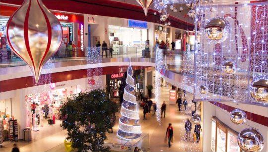 Illuminqtions LED pour Centre Commercial