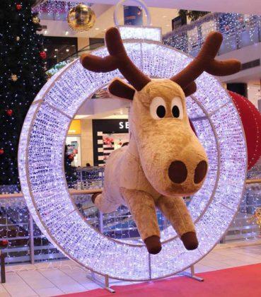 Décoration Noël Centre Commercial Renne