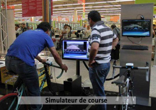 Animation Tour de France Centre Commercial