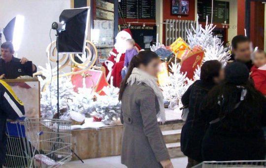 Décoration Centre Commercial Royaume du Père-Noël