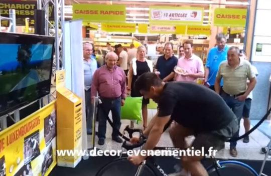 Vidéo animation Centre Commercial Tour de France