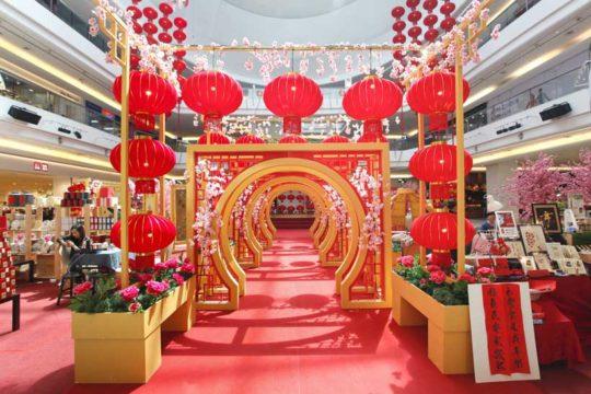 Décor de Nouvel an chinois pour Centre Commercial