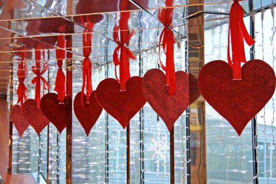Décoration Coeurs Saint-Valentin