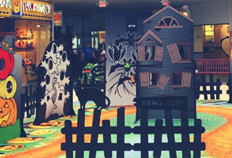 Décors Halloween Centres Commerciaux