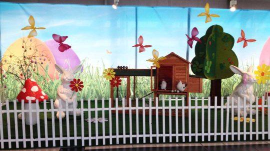 Animation Pâques Centre Commercial