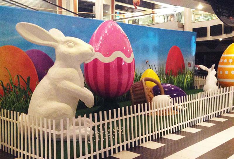 Décoration de Pâques Centres Commerciaux