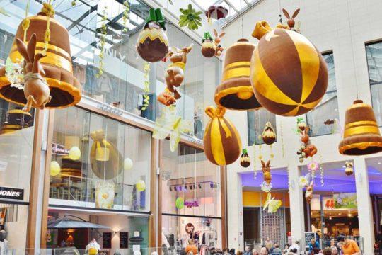décoration de Pâques pour Centre Commercial