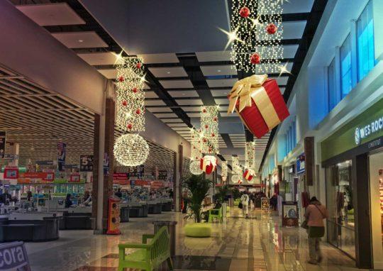 Décoration Noël Centre Commercial Projet