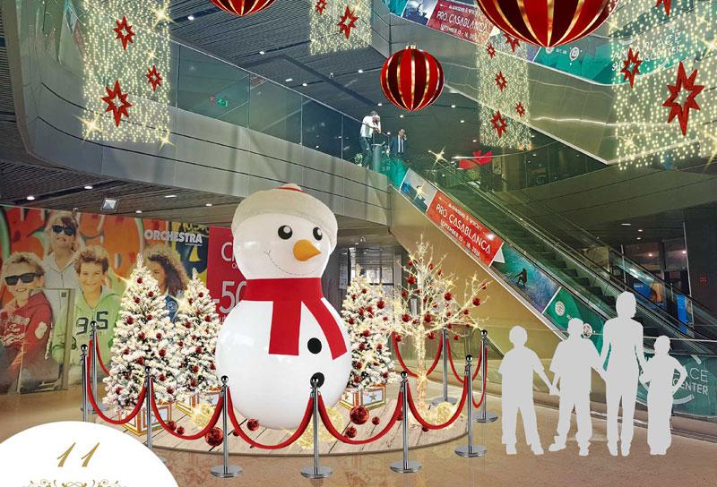Noël Espace Selfie Centre Commercial