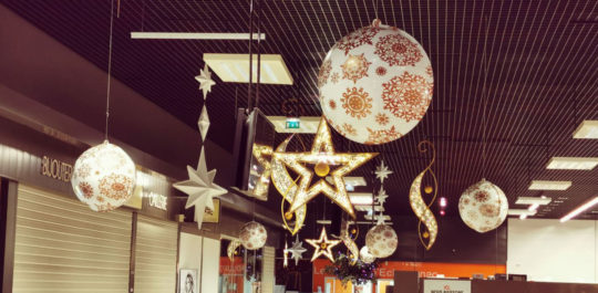 Décoration Noël Galerie Marchande