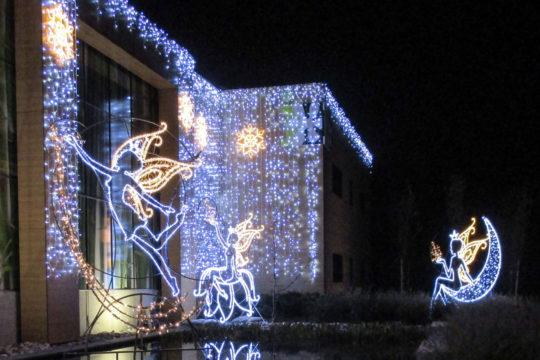Illuminations fées de Noël