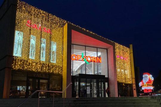 Illumination façade Noël