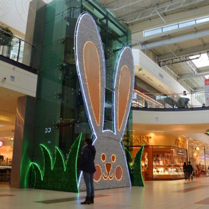 Lapin géant de Pâques
