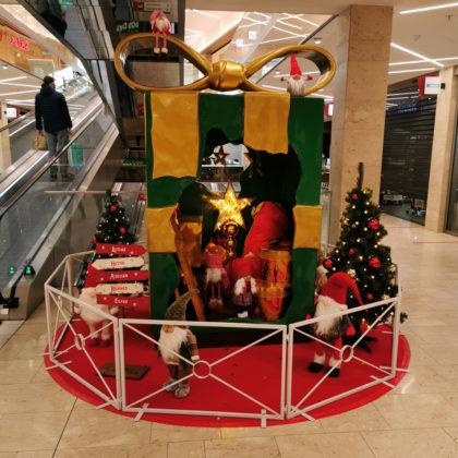 Cadeau Géant de Noël Lutins et Gnomes
